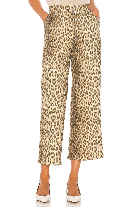 Capulet Lottie Jeans in Leopard Denim