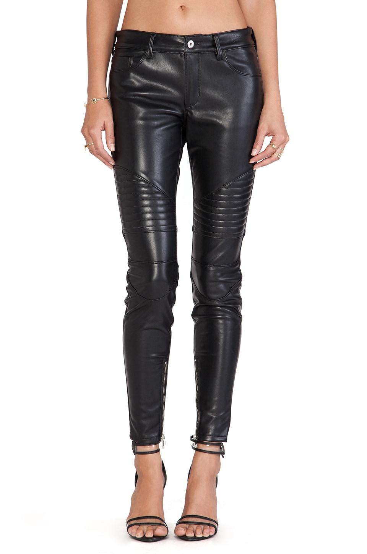 Capulet Vegan Leather Moto Pant in Black