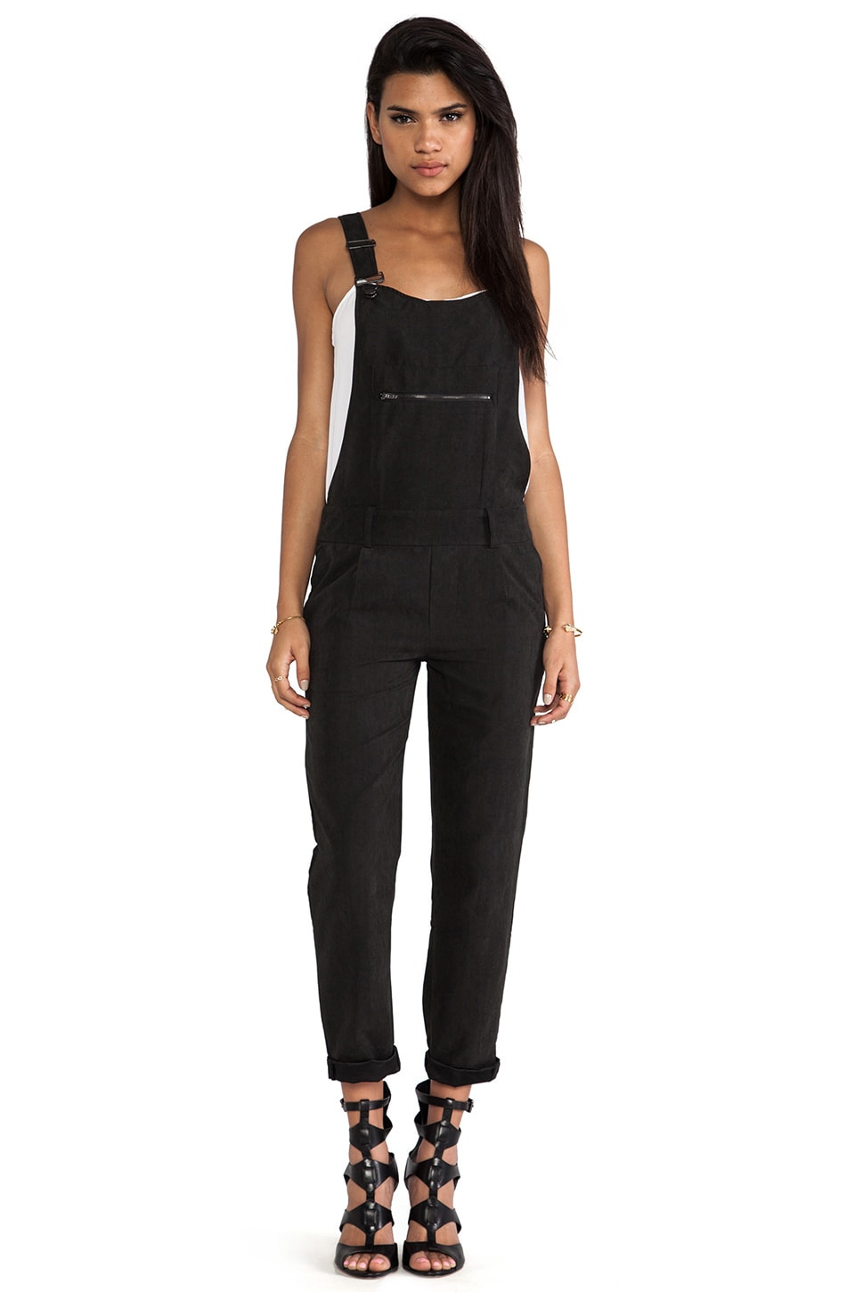 Capulet Overall in Black