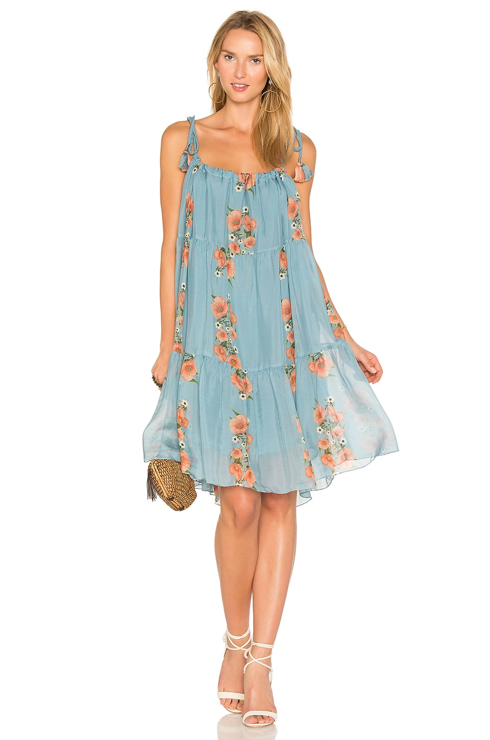 Carolina K Three Way Dress in Blue