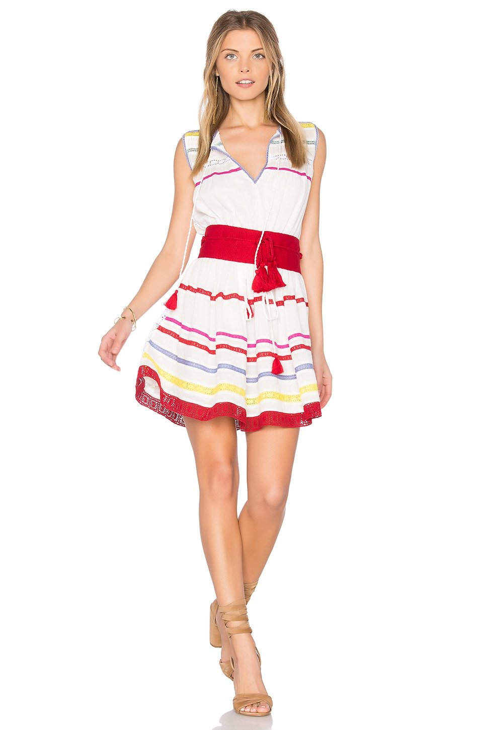 Savanna Belted Dress by Carolina K