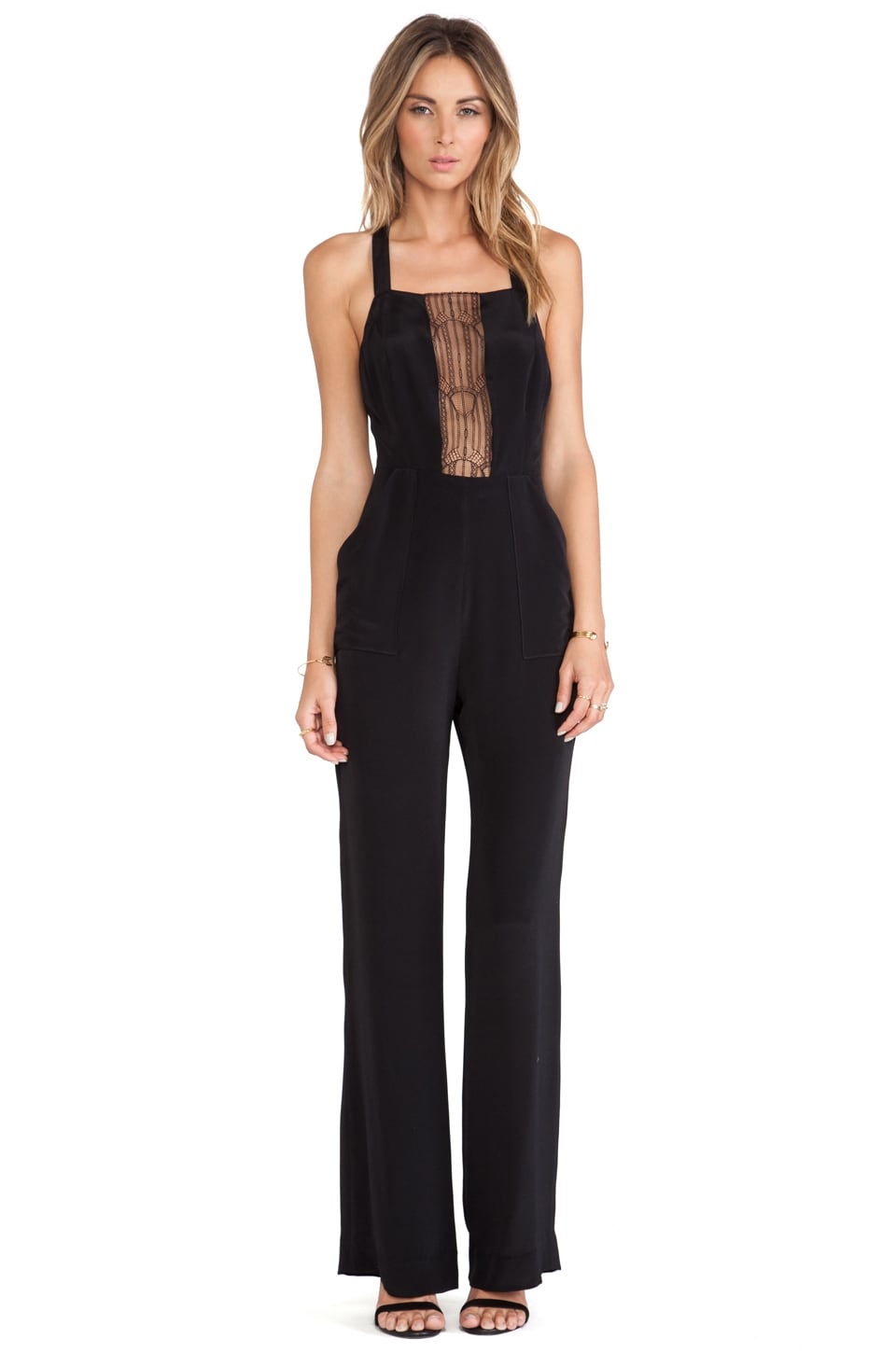 Carmella Ines Jumpsuit in Black