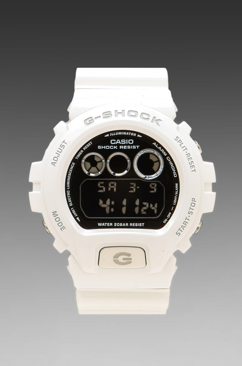 G-Shock Metallic 6900 in White