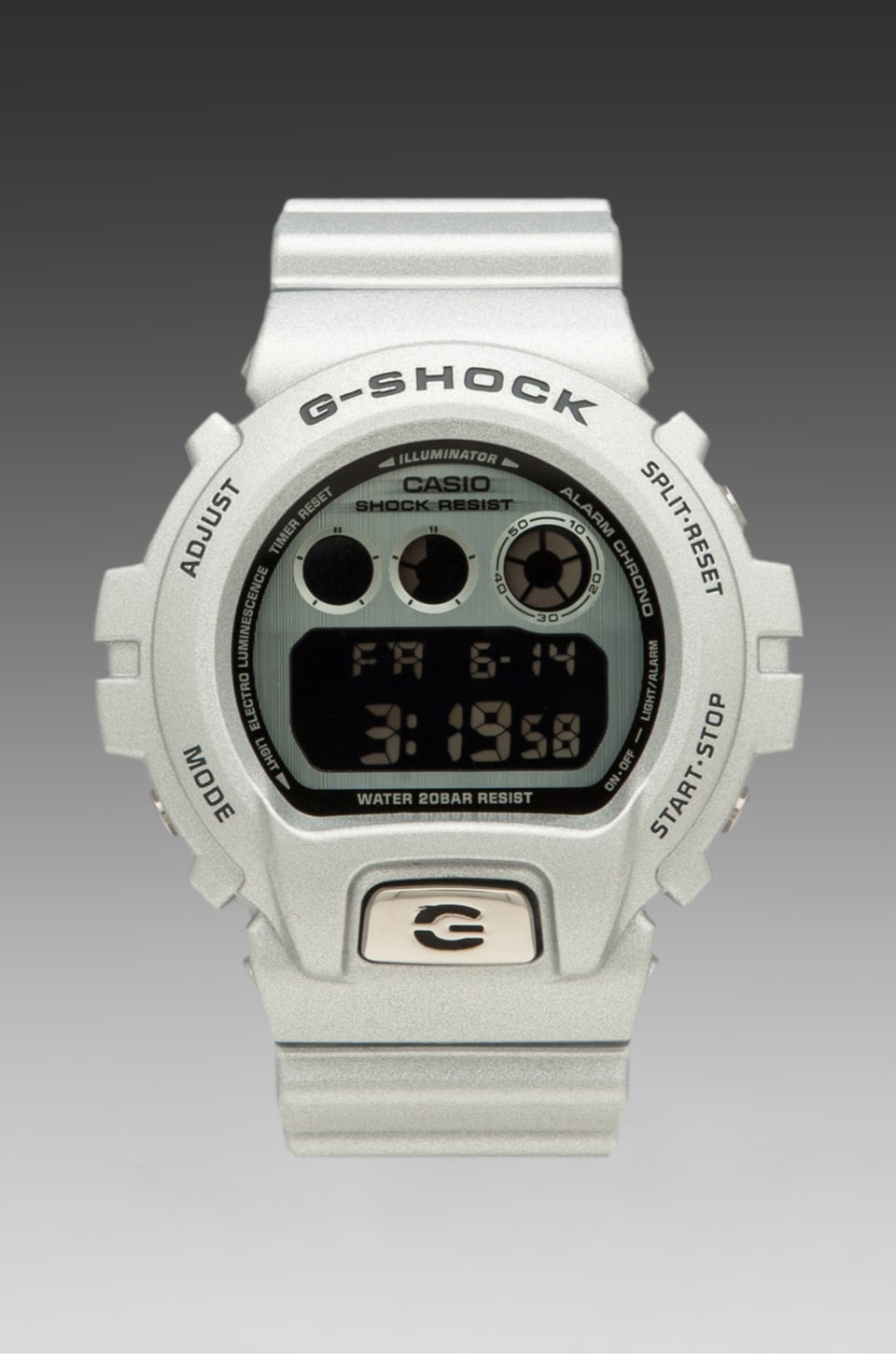 G-Shock 30th Anniversary Basel Limited Edition DW6900BS-8 in Silver Grey
