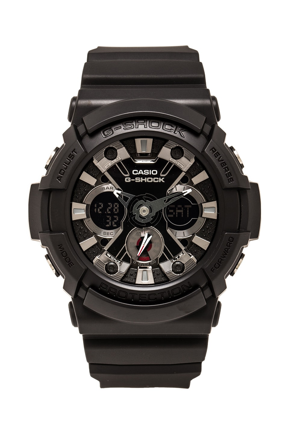 G-Shock Big Combi w/ Metal Accents in Black