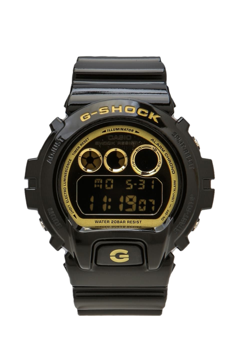 G-Shock 6900 in Black/Gold