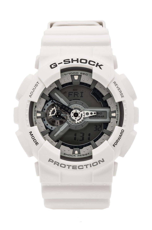 G-Shock X-Large Combi Monotone in White/Grey