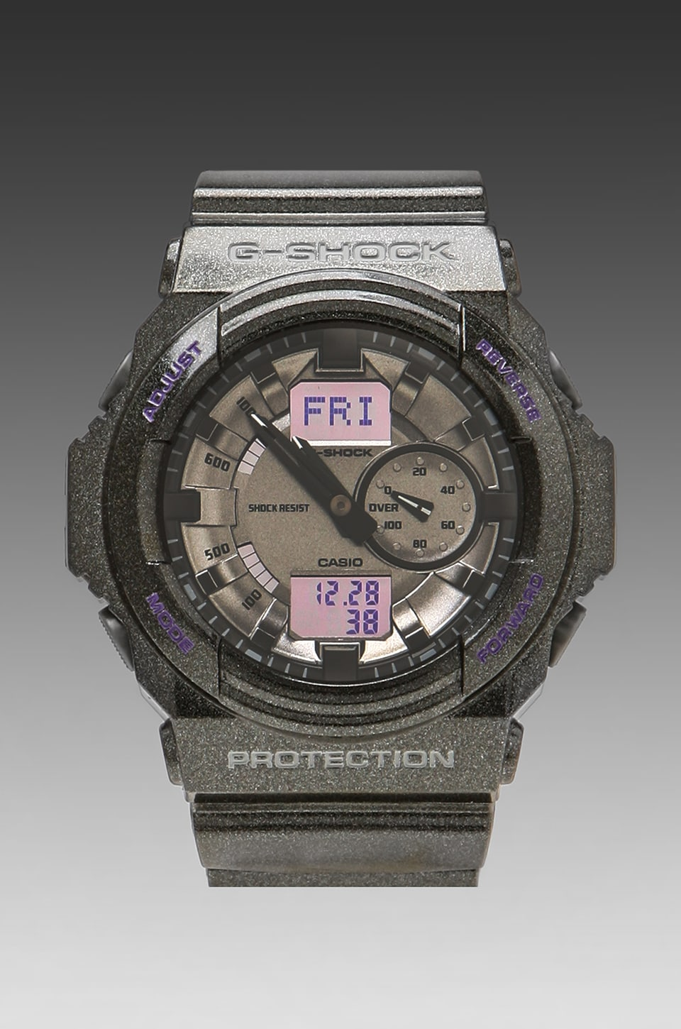 G-Shock GA-150MF-8A in Black/Silver