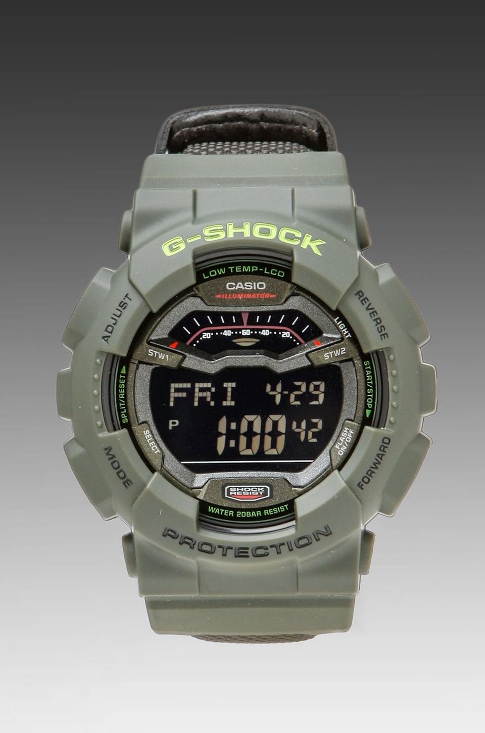 G-Shock G-Lide Winter 2012 in Green