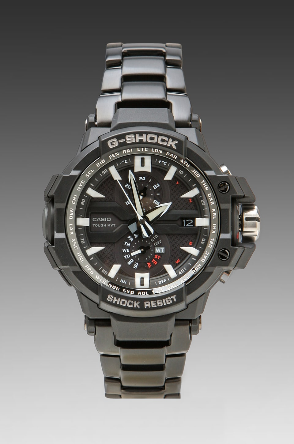 G-Shock G-Aviation GWA-1000D-1ACR in Black