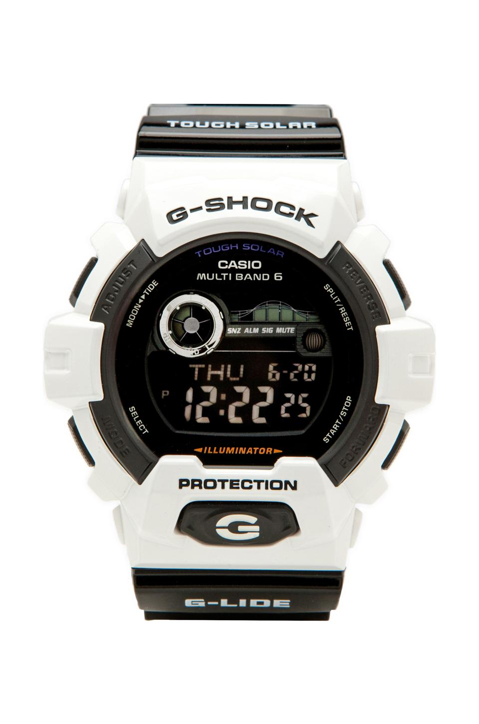 G-Shock GWX8900 in White/Black