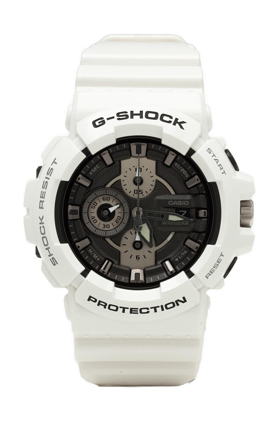 G-Shock Garish GAC-100 in White