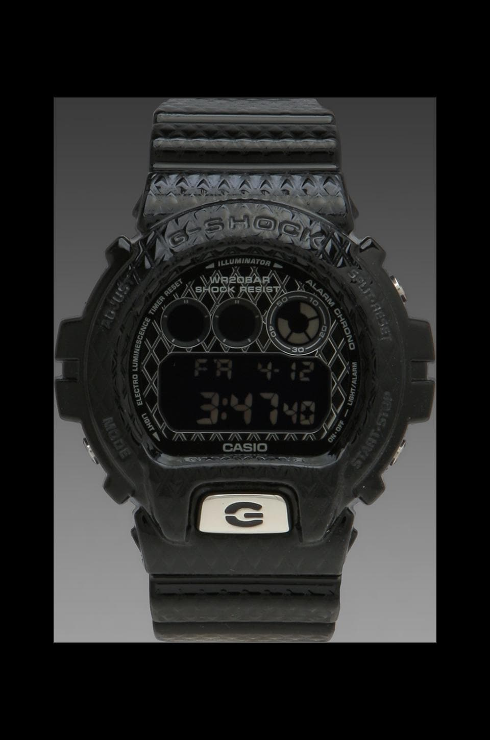 G-Shock Limited Edition DW6900 Crosshatch in Black