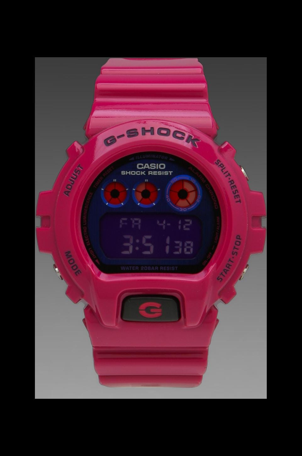 G-Shock Limited Edition DW6900 Polarization Color in Pink