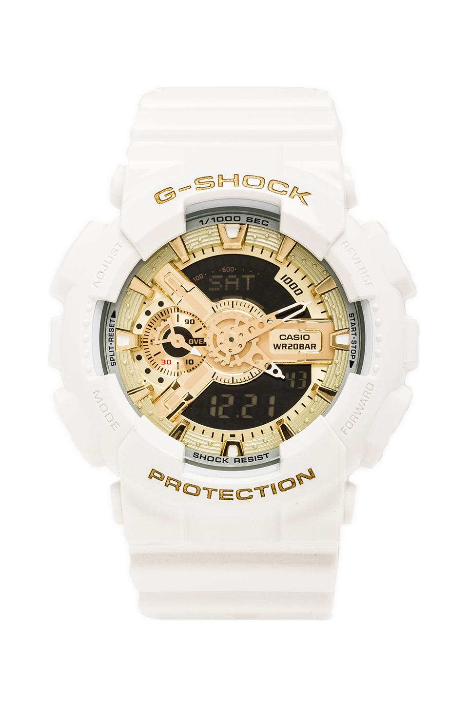 G-Shock x Baby-G Pair in White