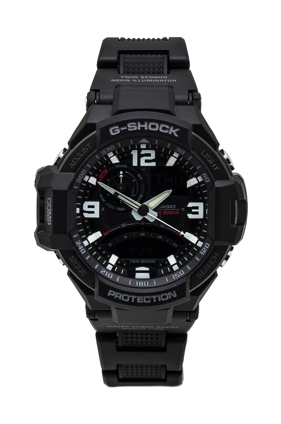 G-Shock G-Aviation in Black