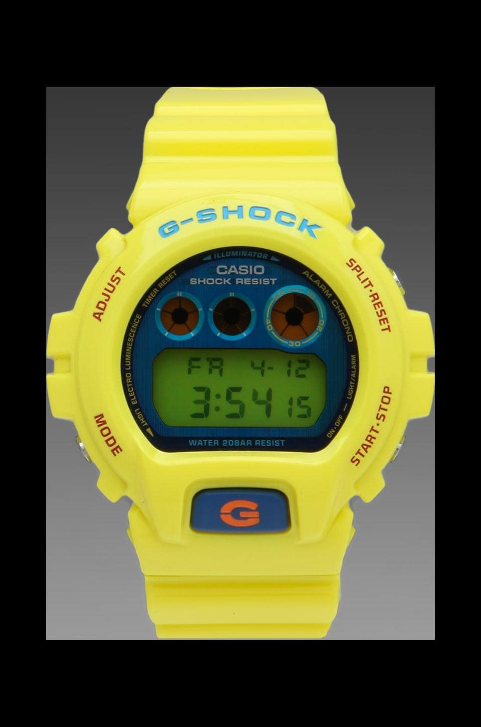 G-Shock Limited Edition DW6900 Polarization Color in Yellow
