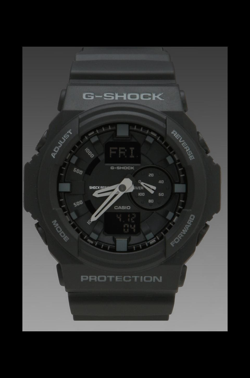 G-Shock GA-150 Combi in Black