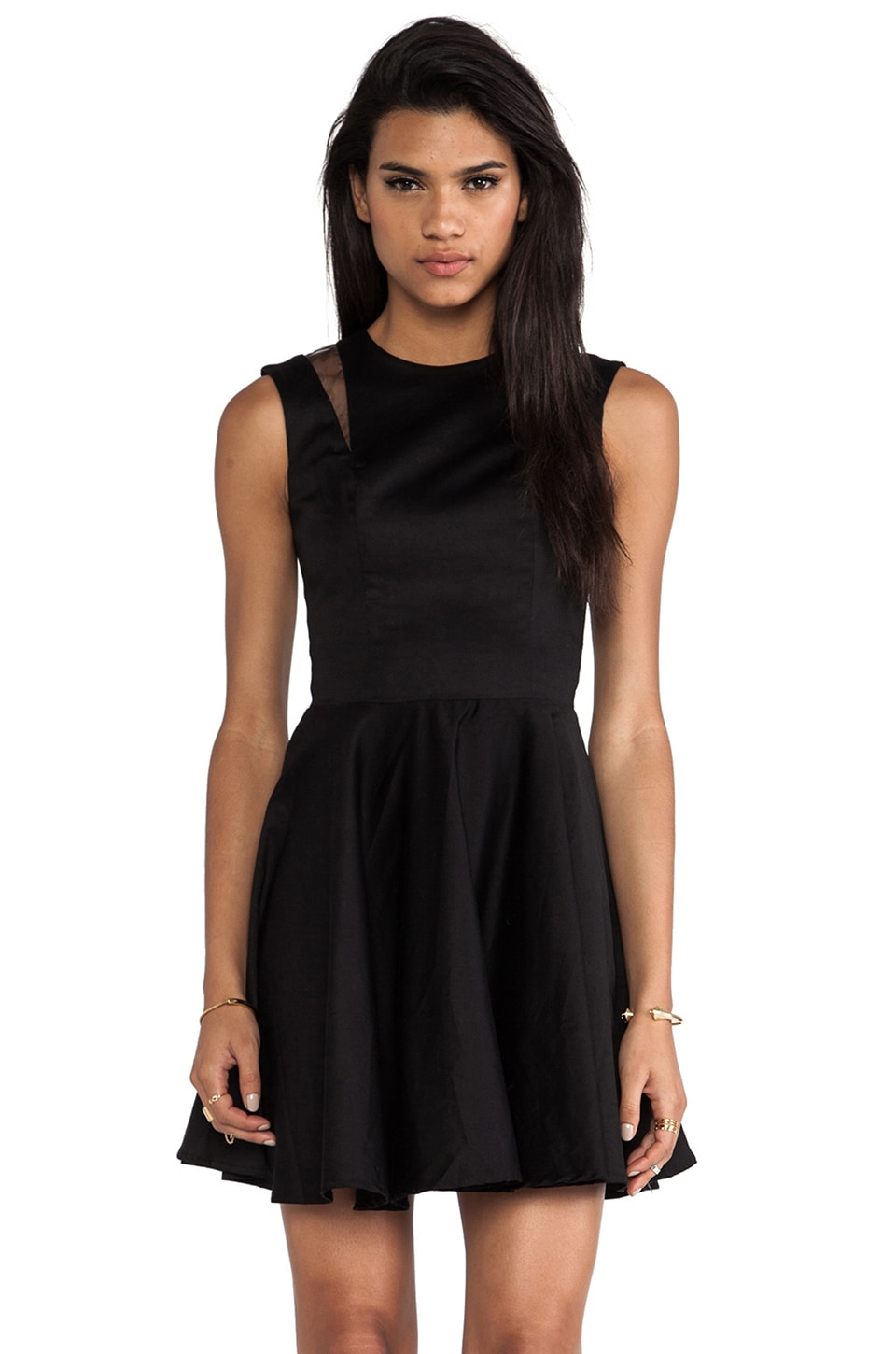 Casper & Pearl Chemistry Dress in Black