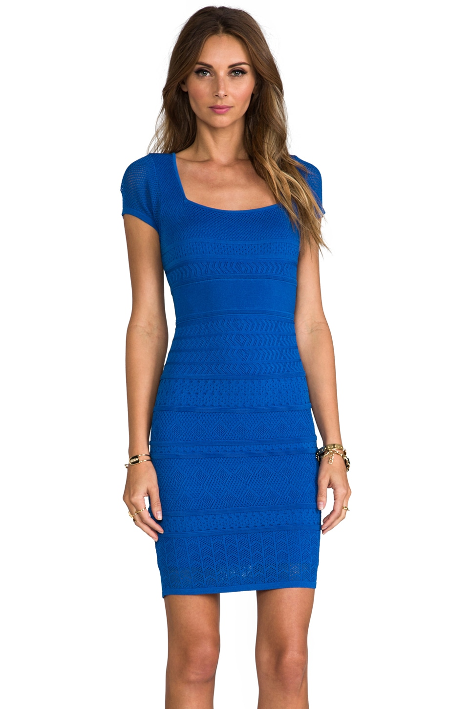 Catherine Malandrino Cheryl Dress in Cobalt