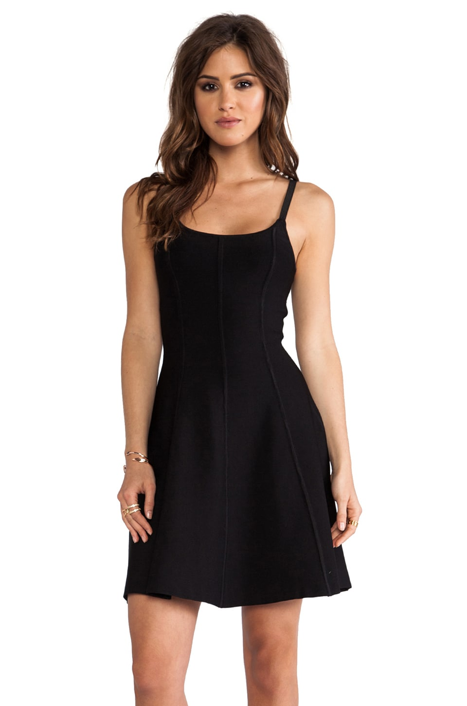 Catherine Malandrino Dariana Dress in Noir