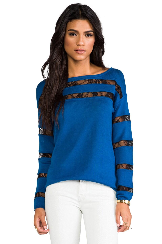 Catherine Malandrino Arlene Wool Tunic Sweater in Celestial