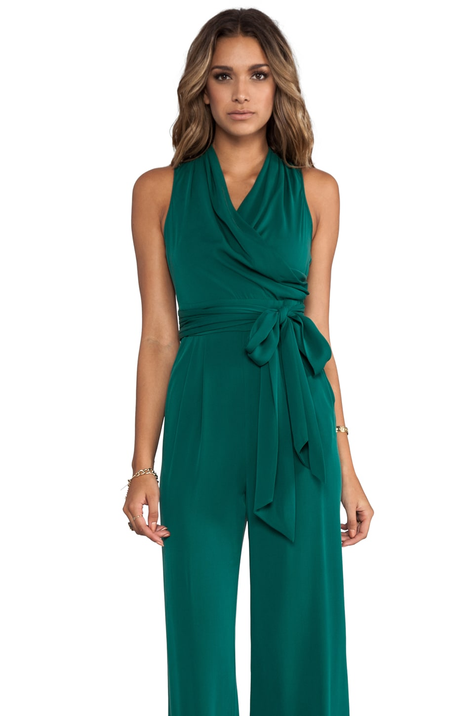 Catherine Malandrino Marion Favorites Jumpsuit in Pine