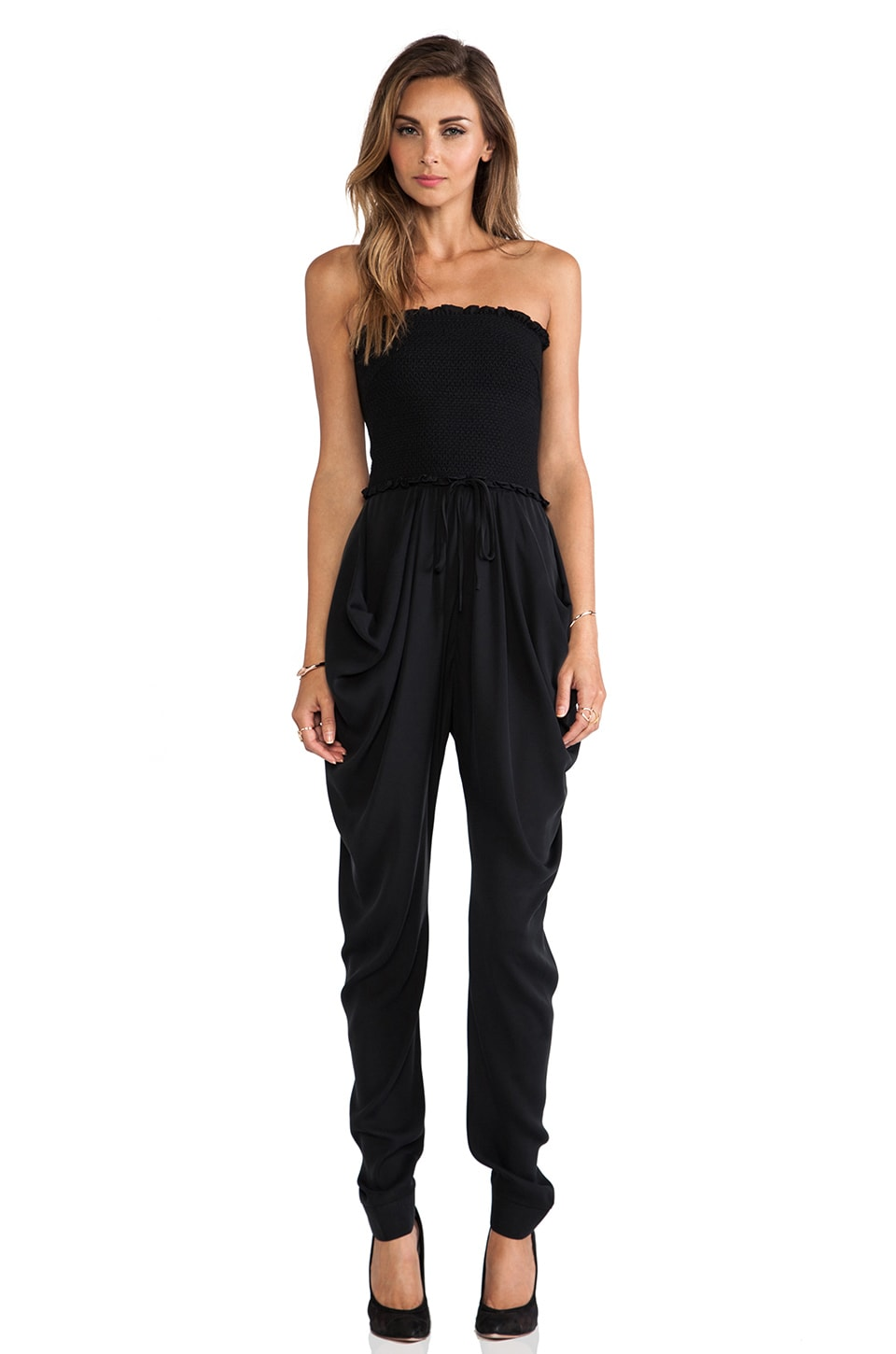 Catherine Malandrino Finesse Jumpsuit in Noir
