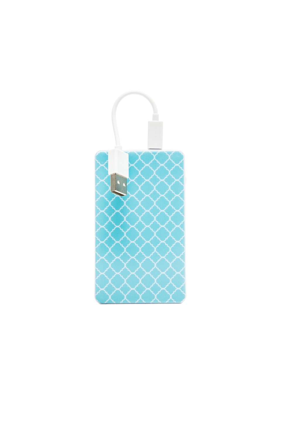 Chic Buds Kendra Slim Power Battery in Turquoise