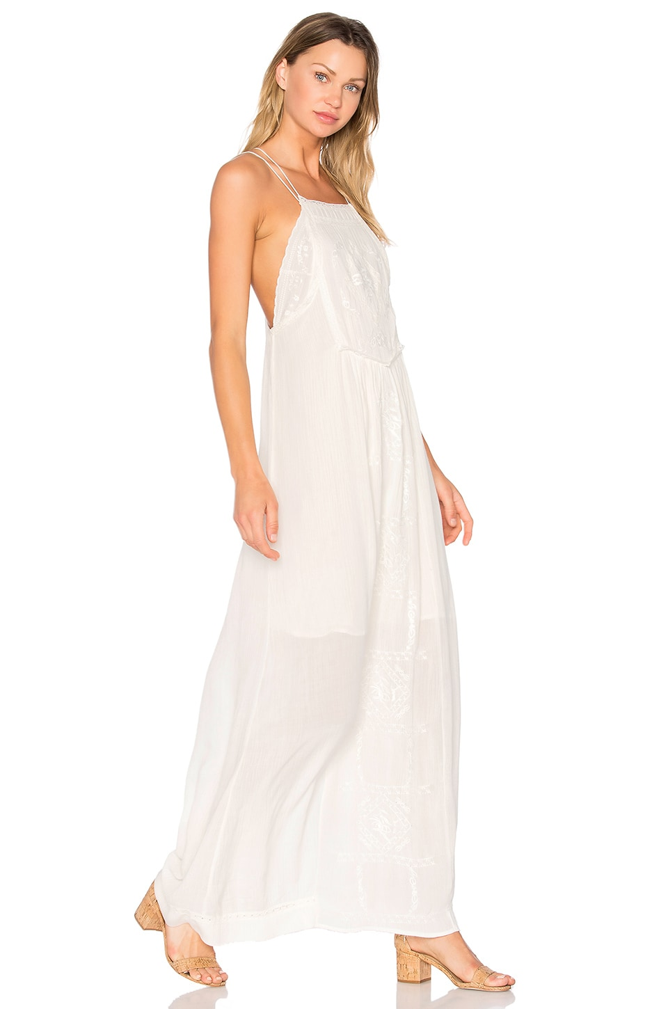 Odysseia Strappy Maxi Dress by C&C California