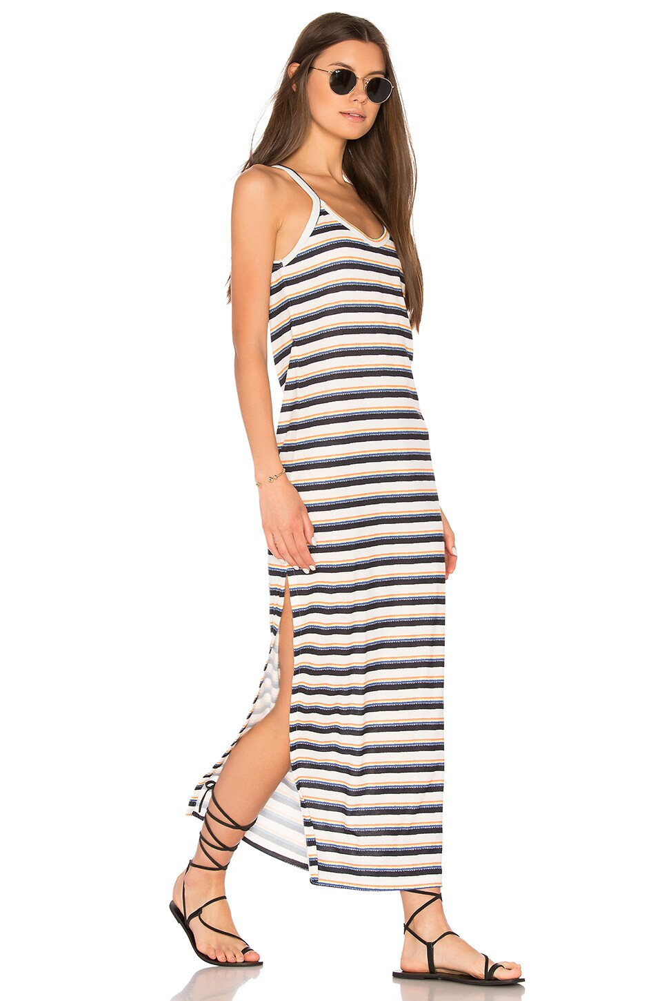 Freja Maxi Slit Dress by C&C California