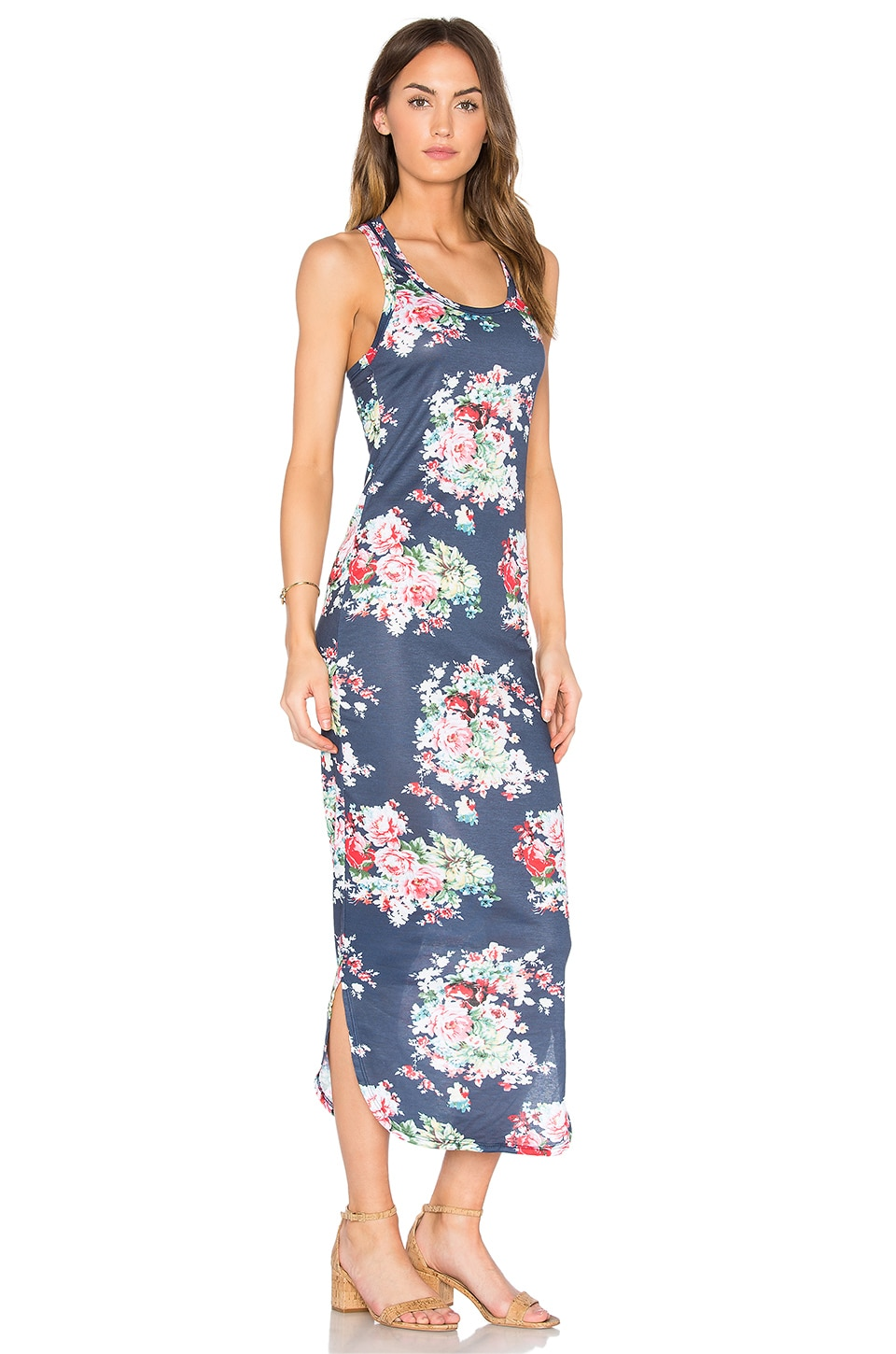 Sophia Racerback Midi Dress by C&C California