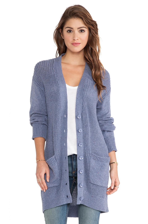 C&C California Cardigan Sweater in Dutch Blue
