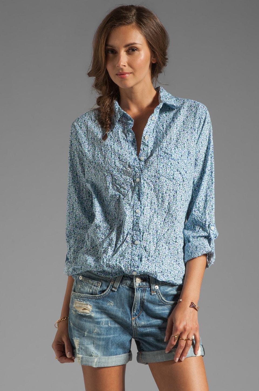 C&C California Roll Shirt in Blue Raspberry