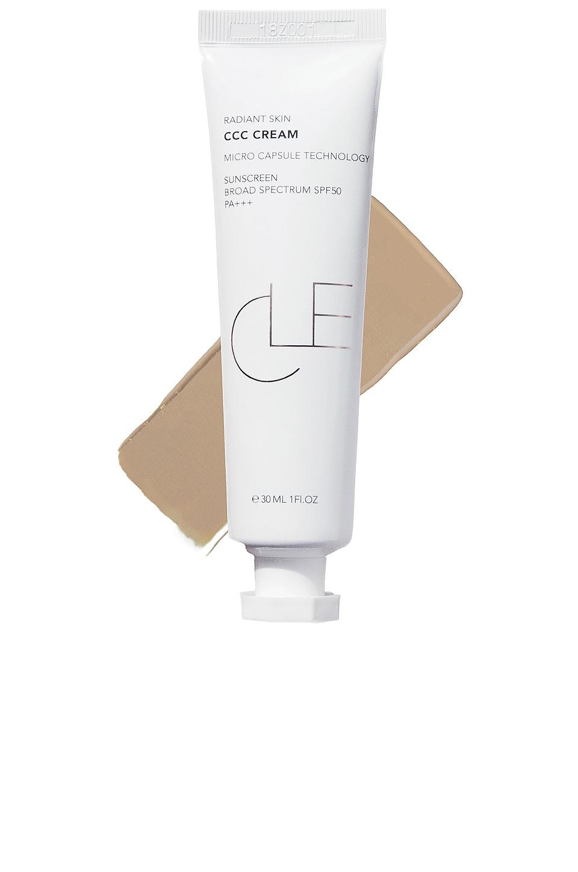 Cle Cosmetics CCC Cream Foundation in Warm Medium Light
