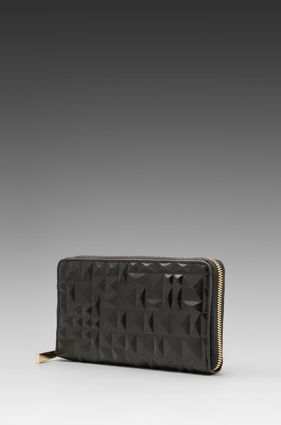 CC Skye Malibu Zip Wallet in Tribal Black