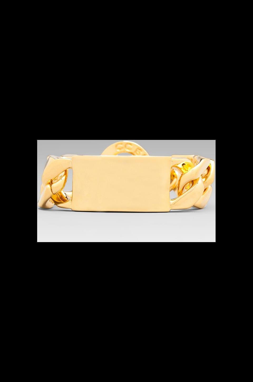 CC Skye Oversized ID Bracelet in Gold