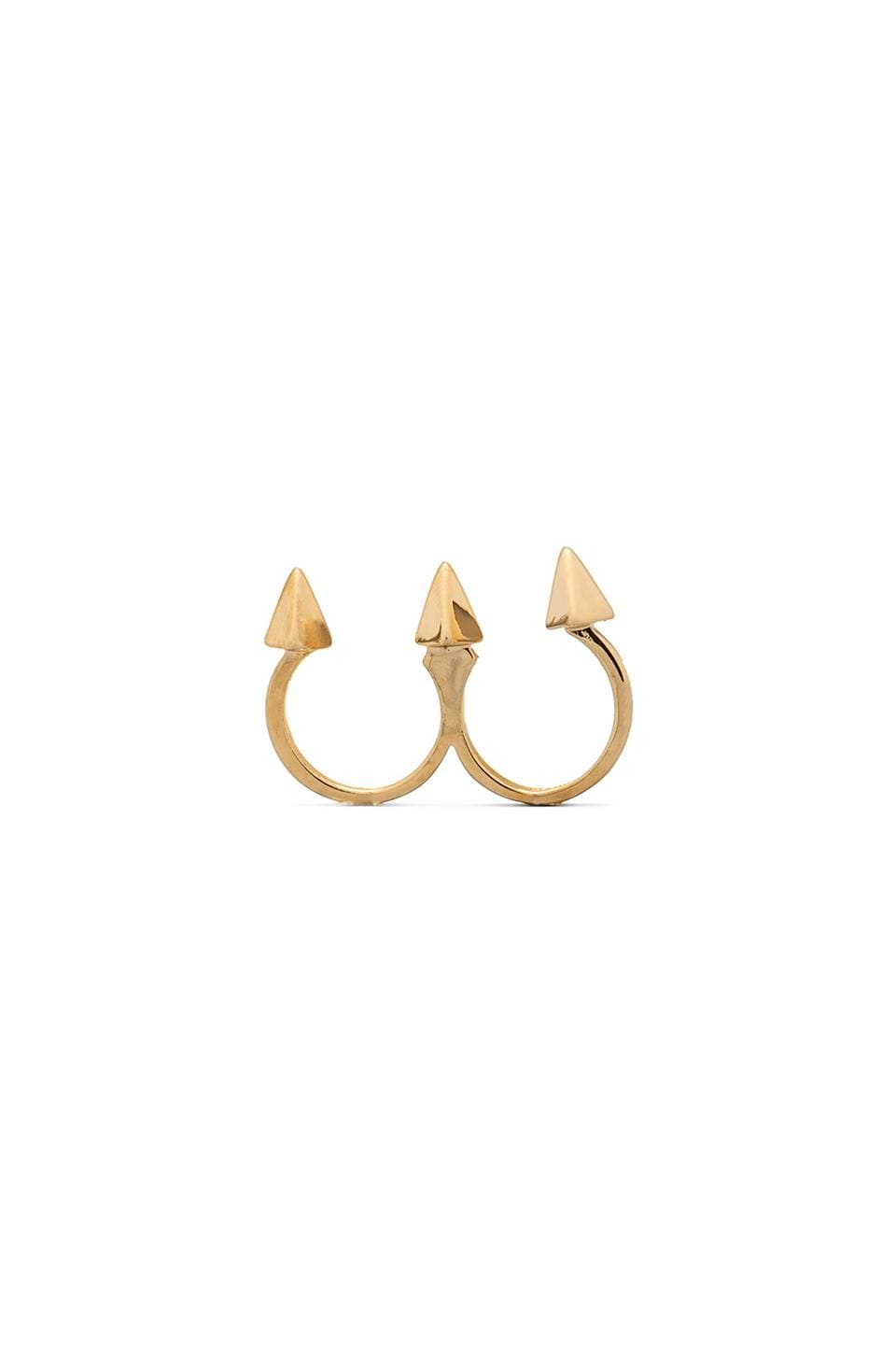 CC Skye Ex-Boyfriend Ring in Gold