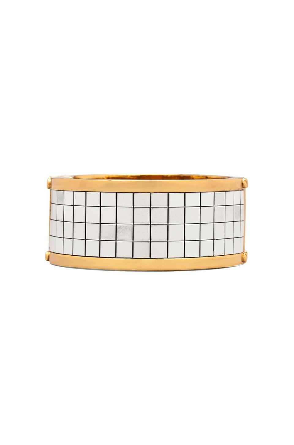 CC Skye Disco Bangle in White