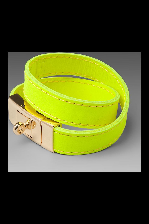 CC Skye Portico Bracelet in Neon Yellow