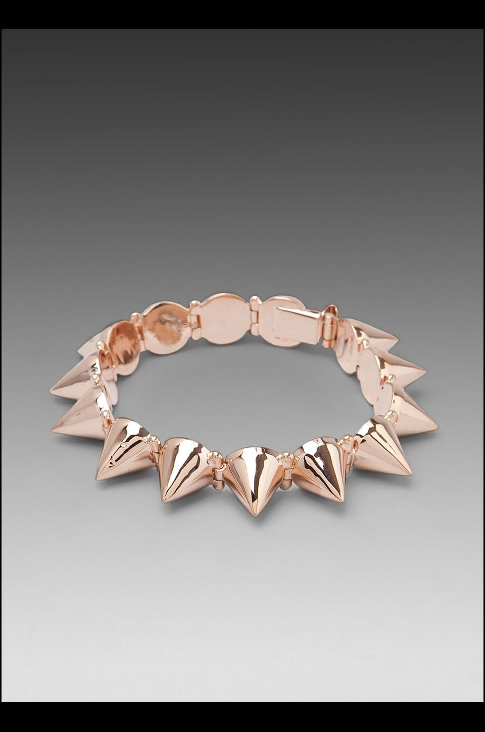 CC Skye Mercy Spike Bracelet in Rose Gold