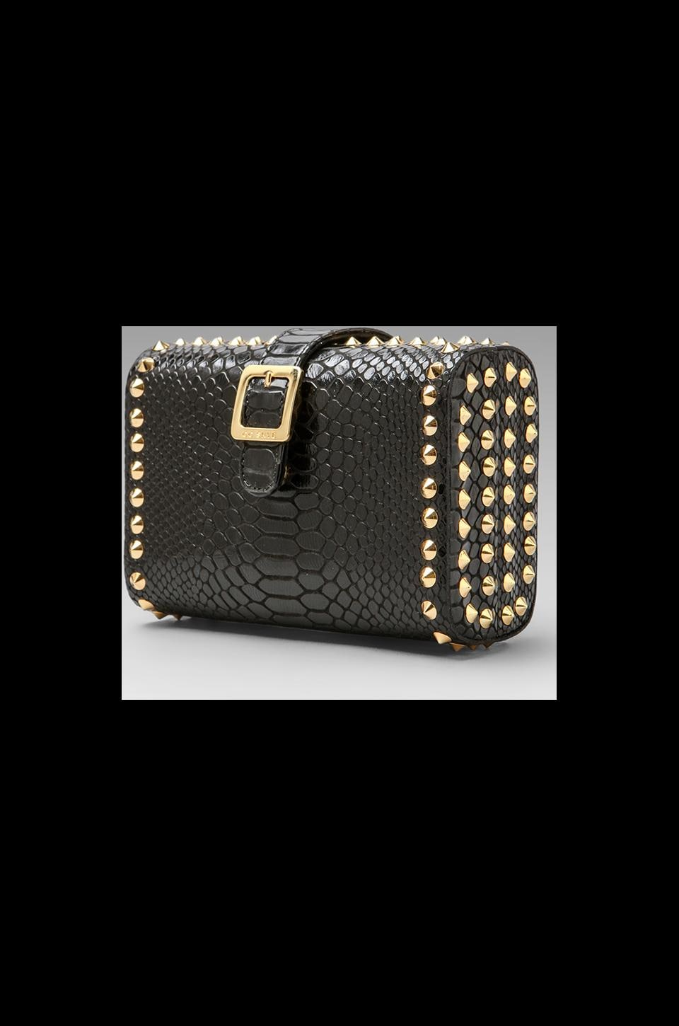 CC Skye The Red Carpet Clutch in Black Python