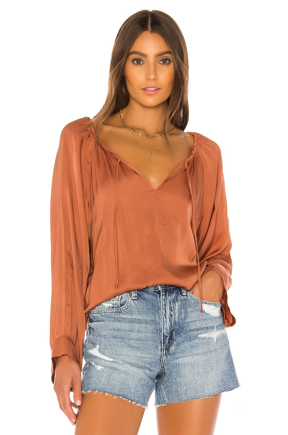Cali Dreaming Gan Top in Copper