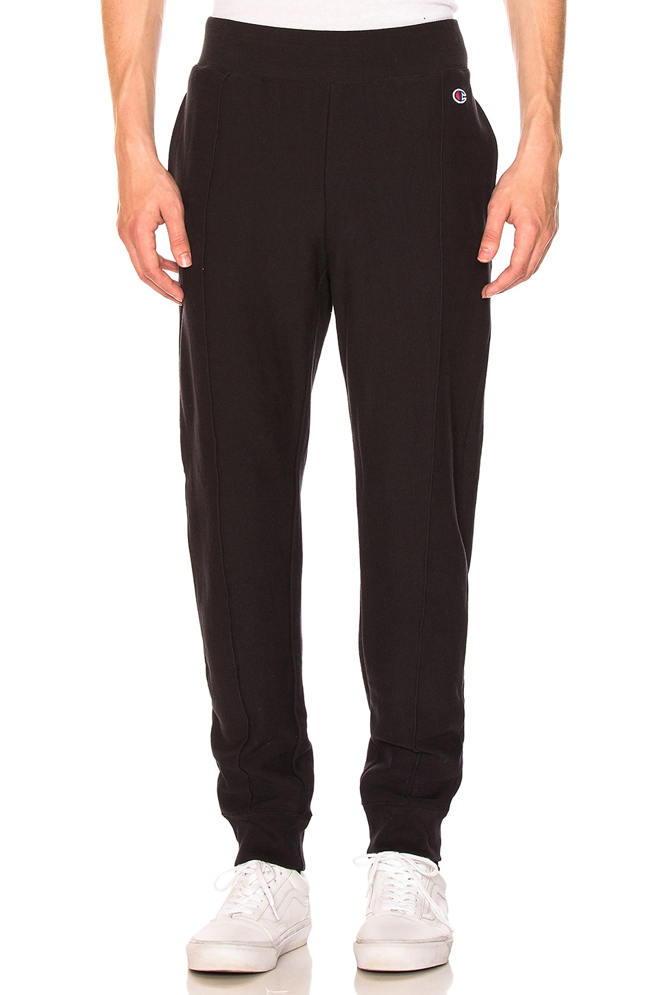 Champion Reverse Weave Pants in Black