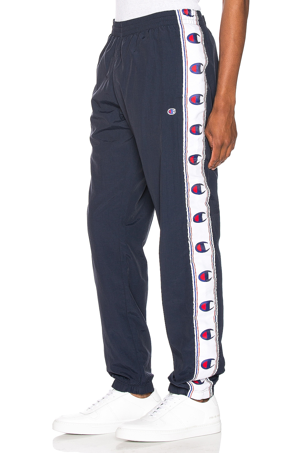 Champion Reverse Weave Elastic Cuff Pant in Navy