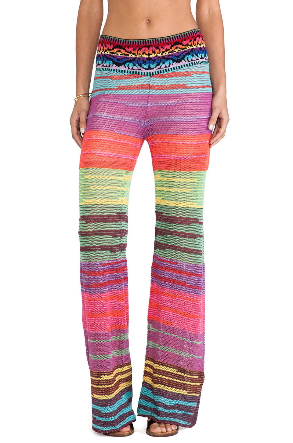 Cecilia Prado Serpentina Wide Leg Pants in Multi