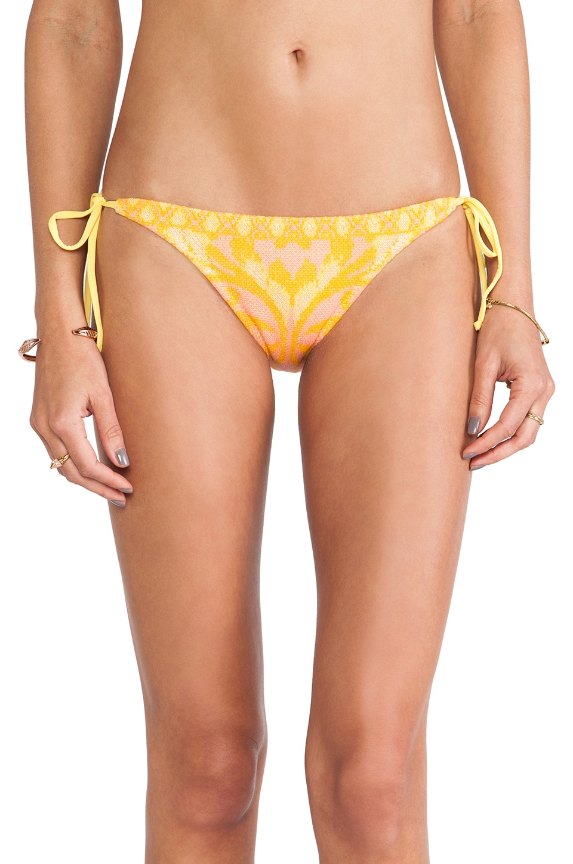 Cecilia Prado Botanica Bikini Bottoms in Orange Multi
