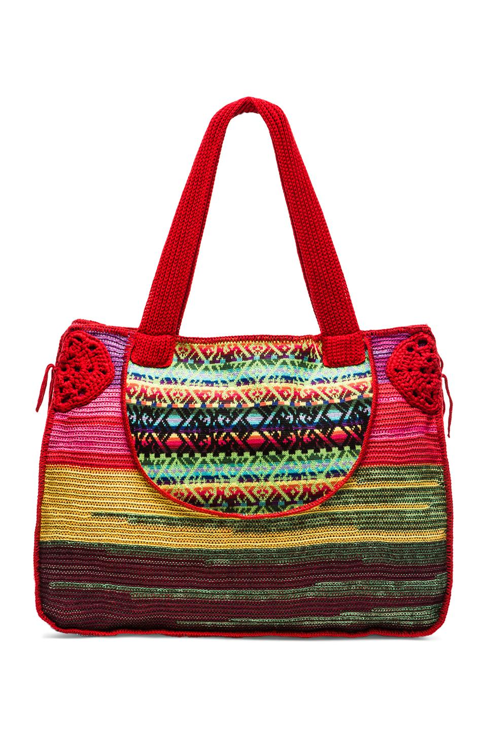Cecilia Prado Beach Bag in Pink Multi