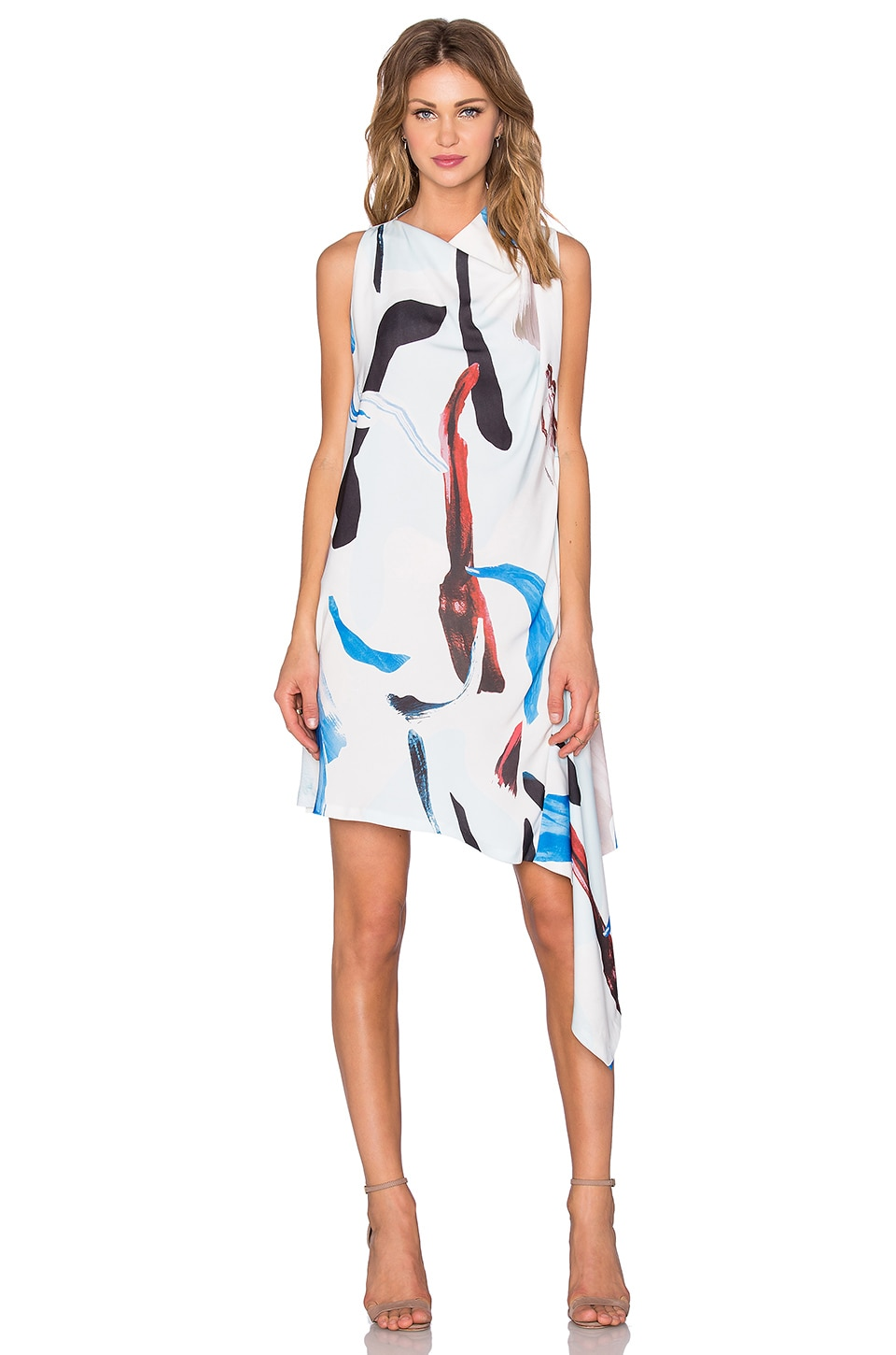 Acler Carling Dress in Pigment Print