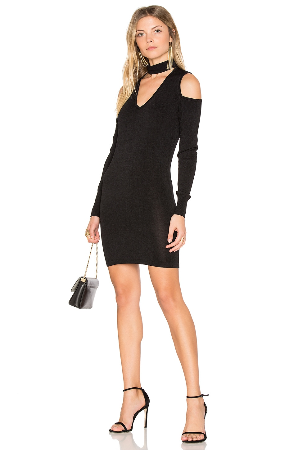 Atlantis Cold Shoulder Sweater Dress by Central Park West